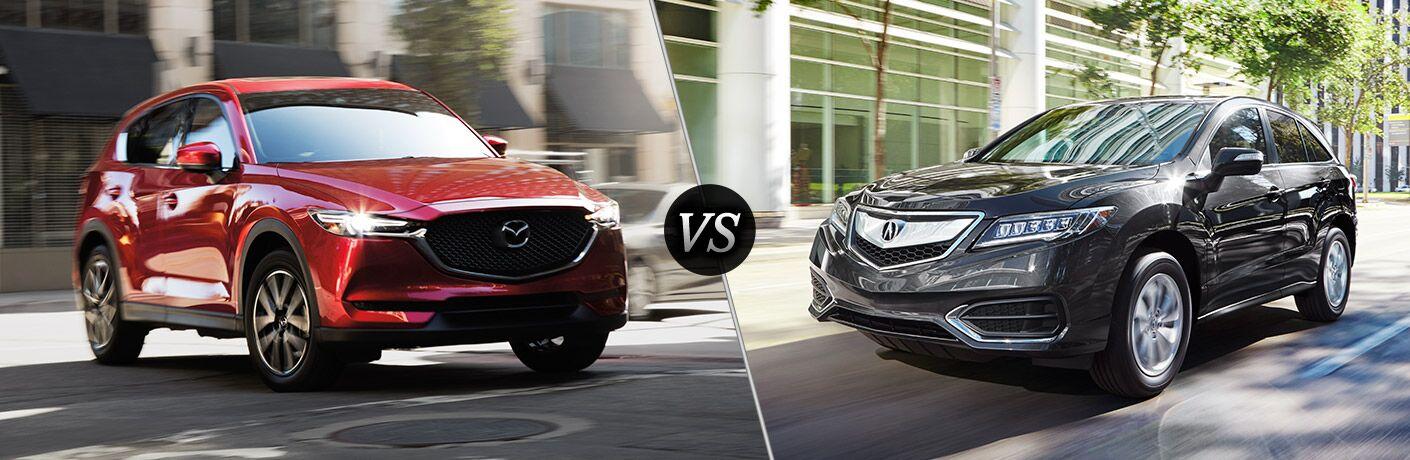 2018 Mazda CX-5 vs 2018 Acura RDX