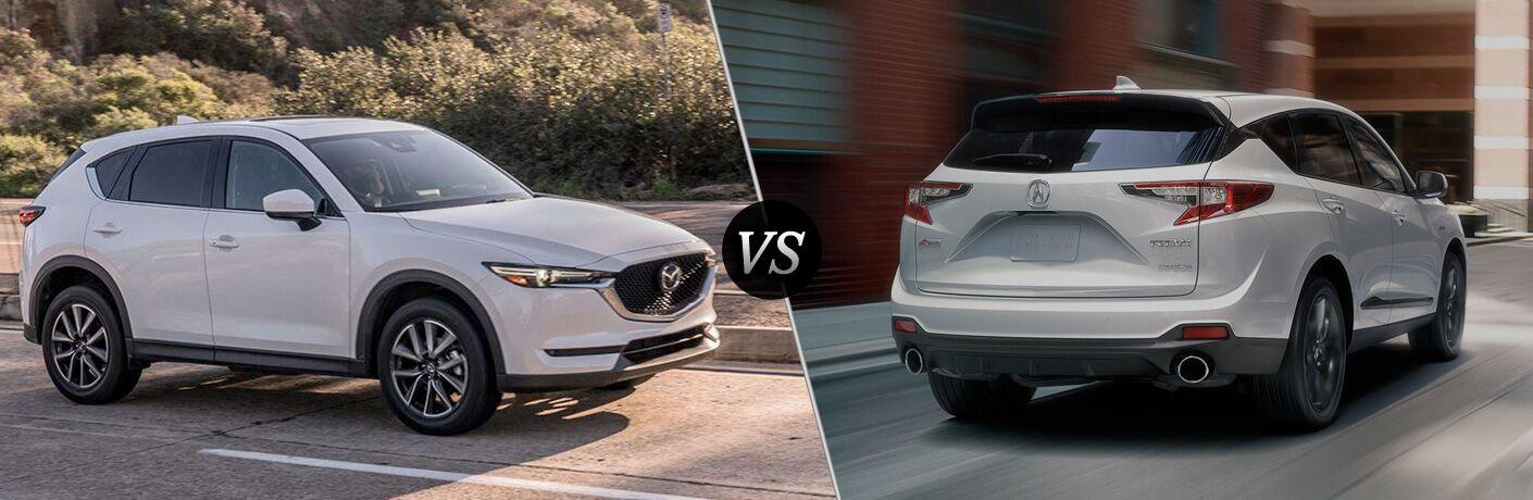 2018 Mazda CX-5 vs 2019 Acura RDX