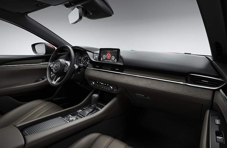 interior front seat of the 2018 Mazda6