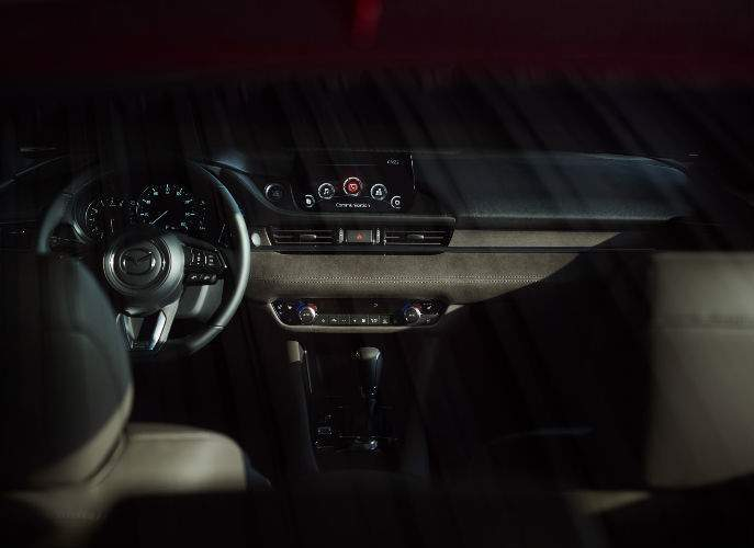 Dashboard View of 2018 Mazda6