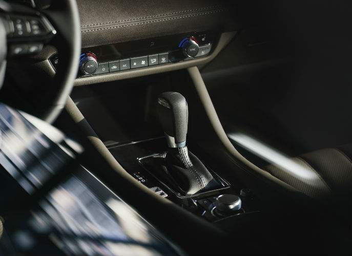 2018 Mazda6 View of Center Console