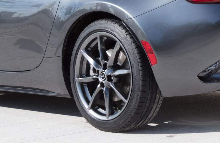 Close up of Wheel on 2018 Mazda MX-5 Miata