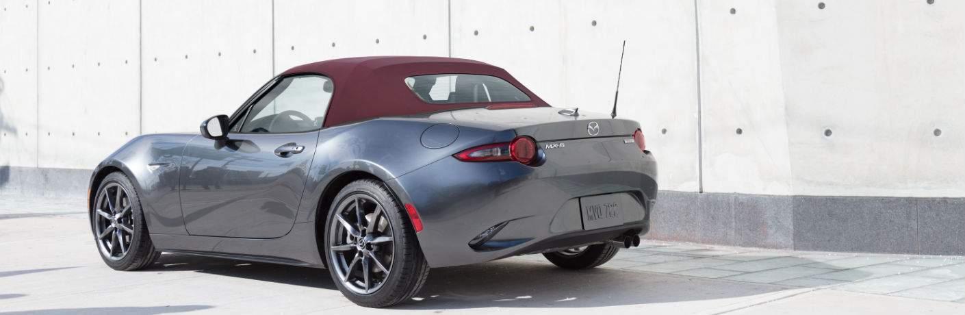 2018 Mazda MX-5 Miata in Gray with Cherry Top