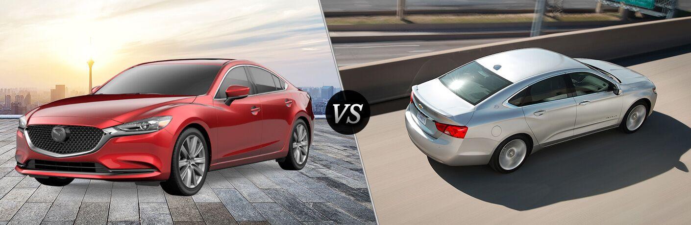 2018 Mazda6 Grand Touring vs 2019 Chevy Impala