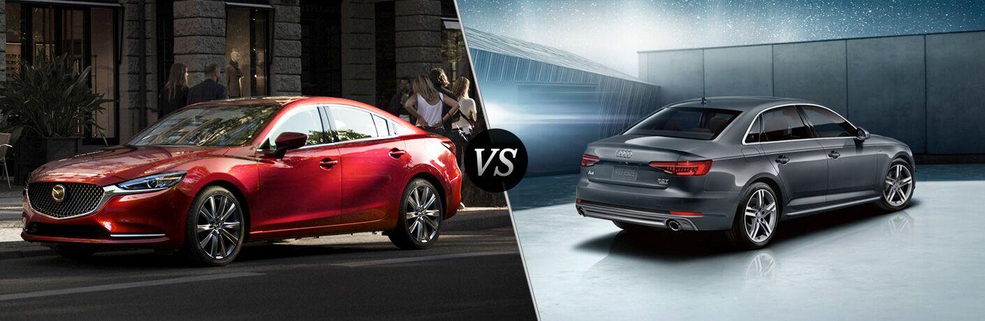 2018 Mazda6 vs 2018 Audi A4