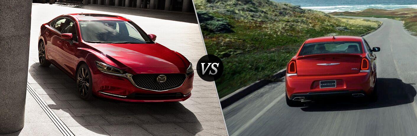 2018 Mazda6 vs 2018 Chrysler 300
