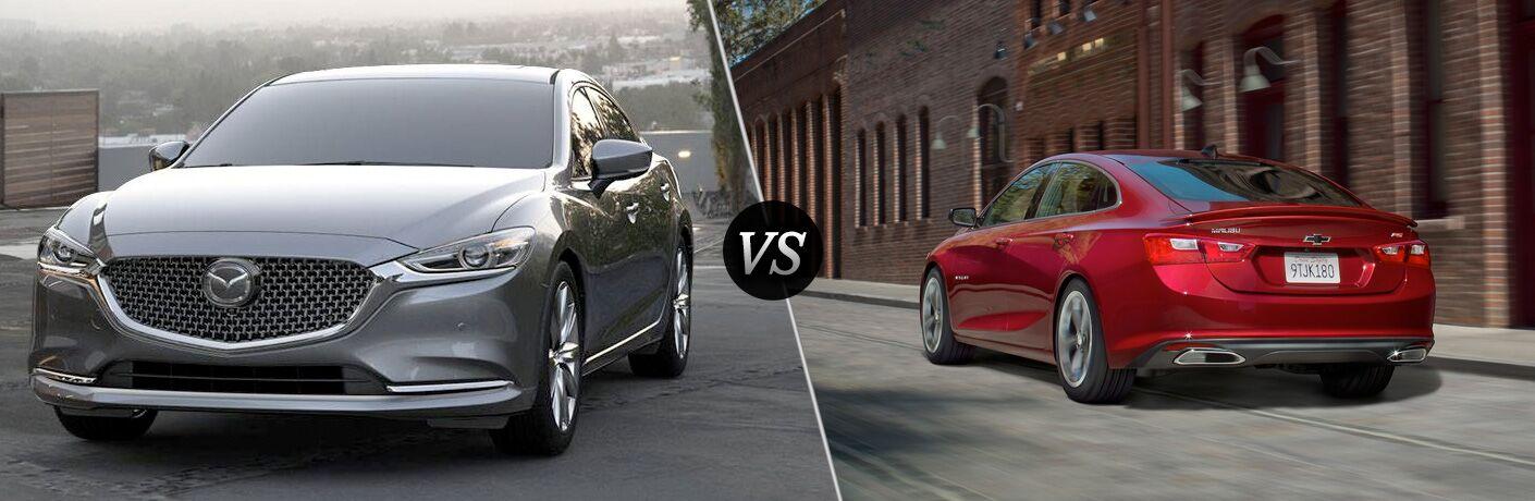 2018 Mazda6 vs 2019 Chevy Malibu