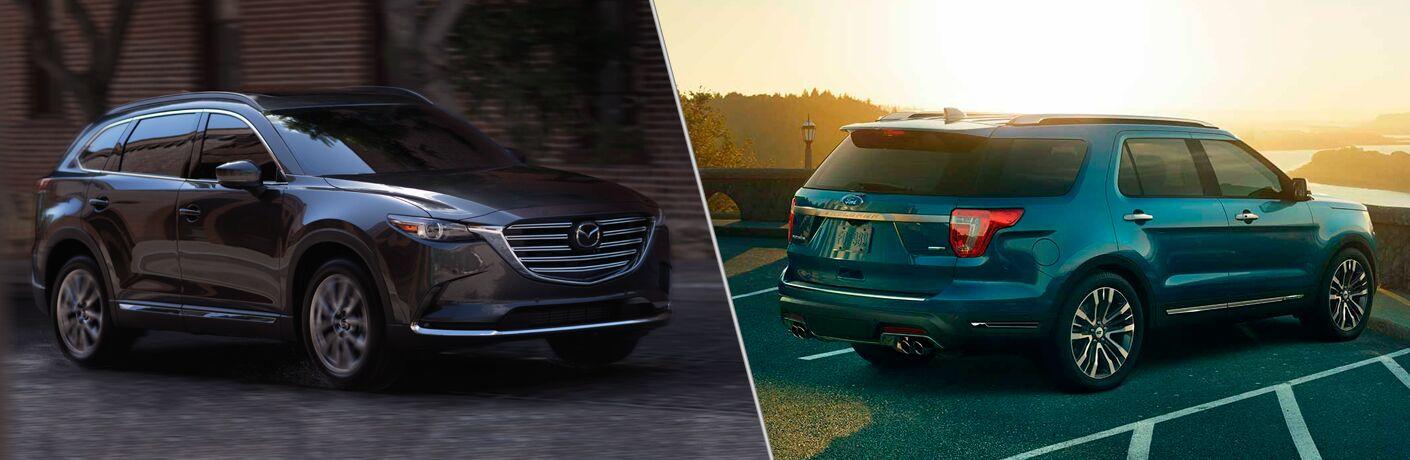 2018 Mazda CX-9 vs 2019 Ford Explorer
