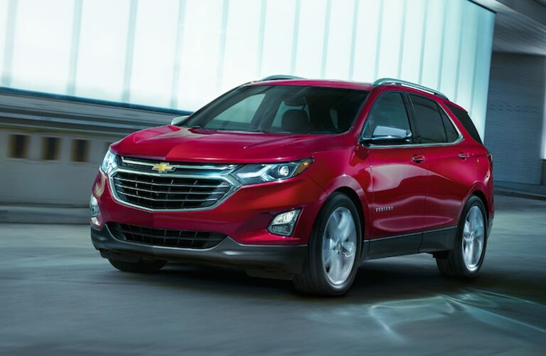 2019 Chevrolet Equinox Front View of Red Exterior
