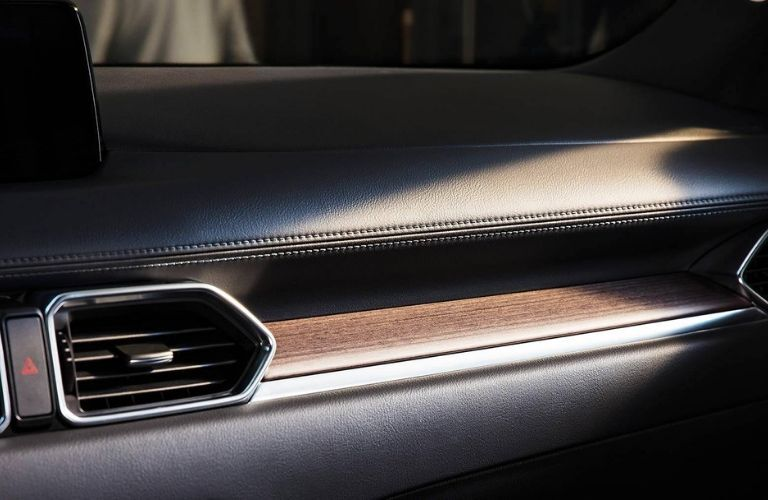 Wood trim in 2019 Mazda CX-5 Signature