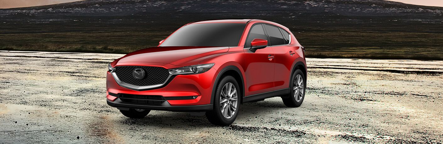 2019 Mazda CX-5 Grand Touring Front View of Red Exterior