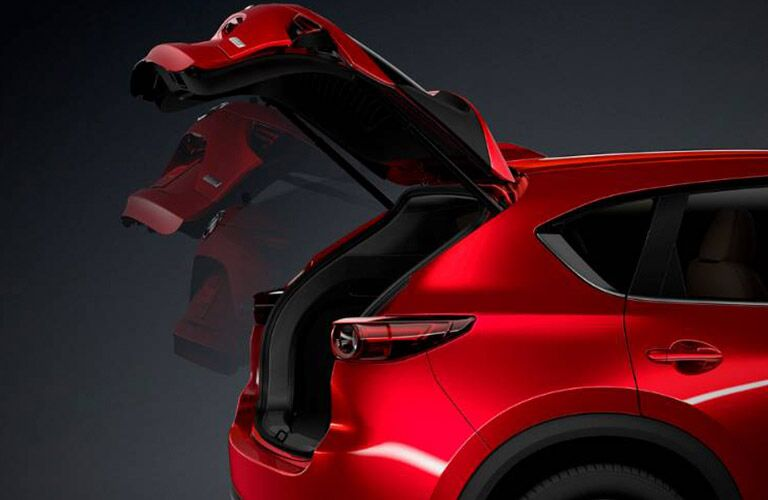 2019 Mazda CX-5 Liftgate Open on Red Exterior