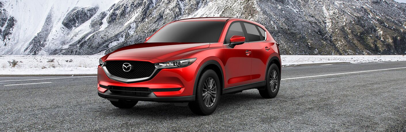 2019 Mazda CX-5 Sport Front View of Red Exterior