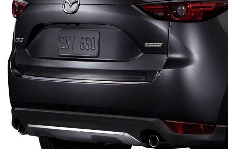 2019 Mazda CX-5 Rear View of Gray Exterior