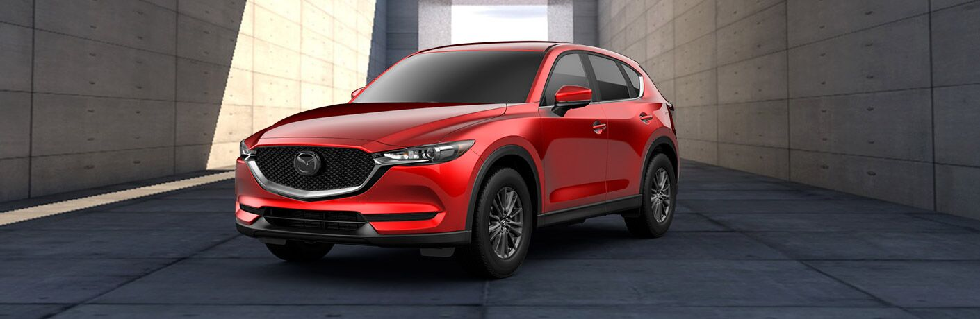 2019 Mazda CX-5 Touring Front View of Red Exterior