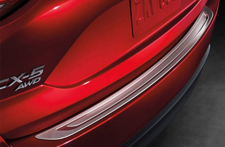2019 Mazda CX-5 Rear Bumper in Red