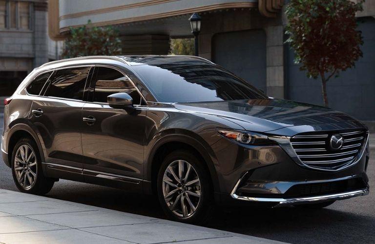 Grey 2019 Mazda CX-9
