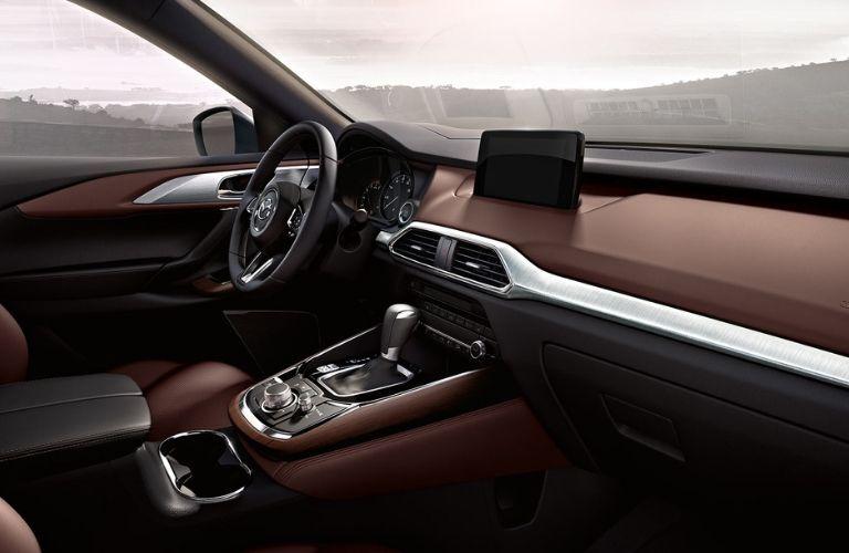 Interior view of 2019 Mazda CX-9