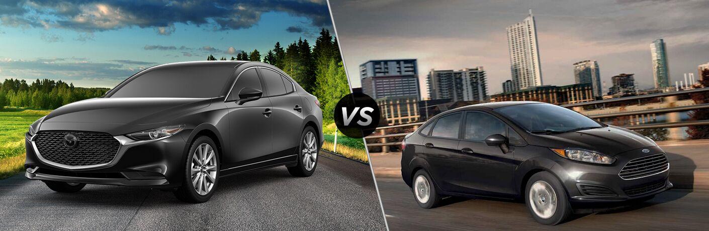 2019 Mazda3 vs 2019 Ford Fiesta