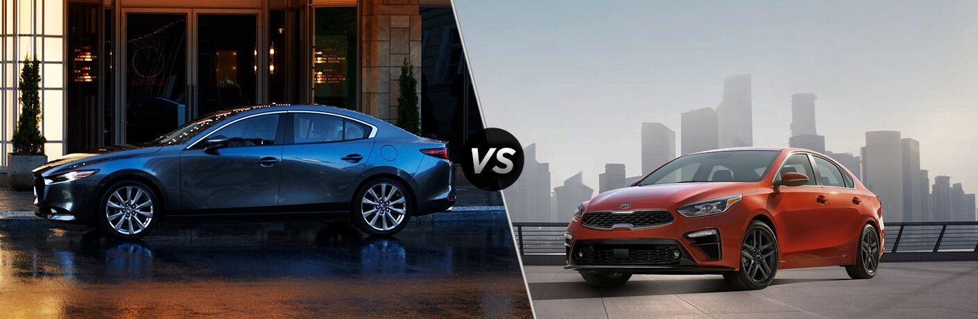2019 Mazda3 vs 2019 Kia Forte