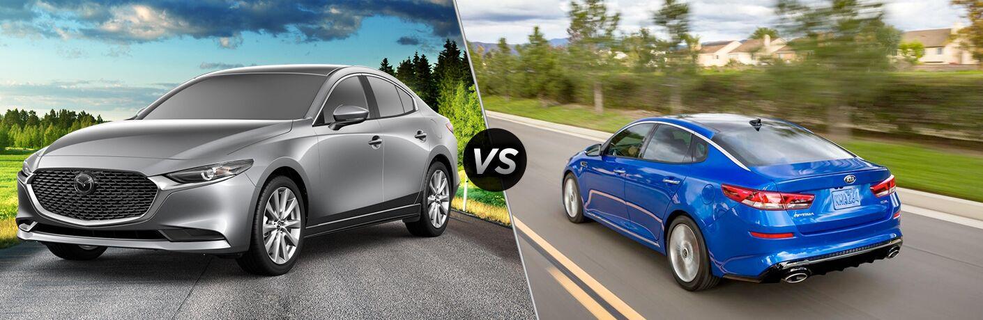 2019 Mazda3 vs 2019 Kia Optima