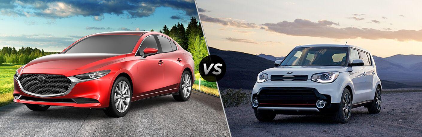 2019 Mazda3 vs 2019 Kia Soul