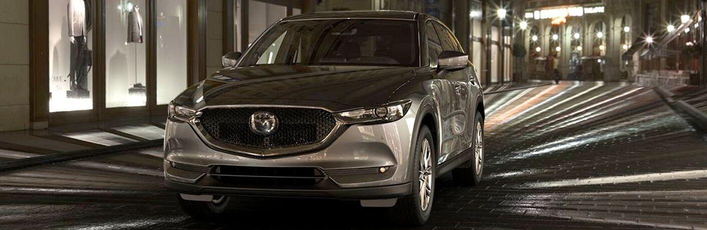2019 Mazda CX-5 Front View of Metallic Exterior