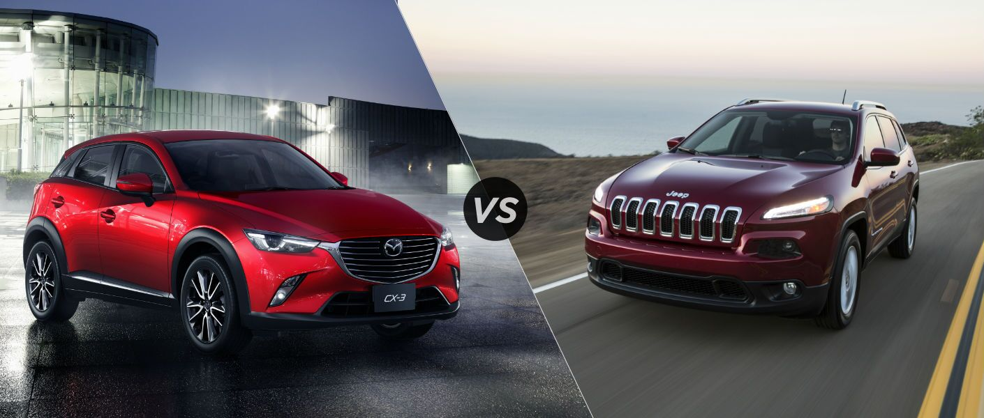 2016 Mazda CX 3 Vs 2016 Jeep Cherokee