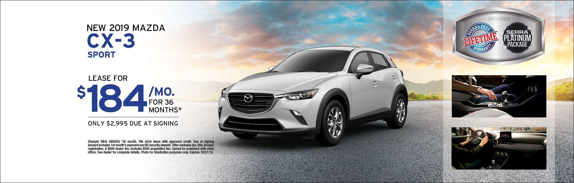 Mazda Cx 3 Lease >> New Mazda Cx 3 Lease Trussville Al