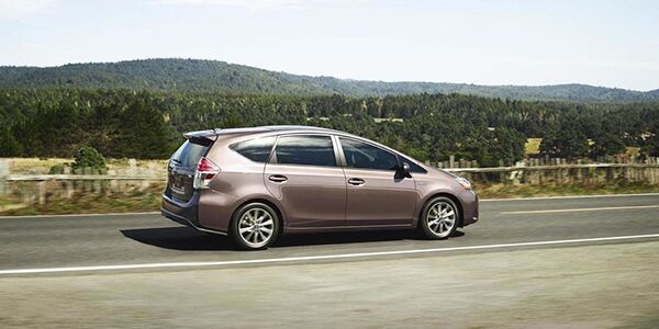 New Toyota Prius v Burlington NC