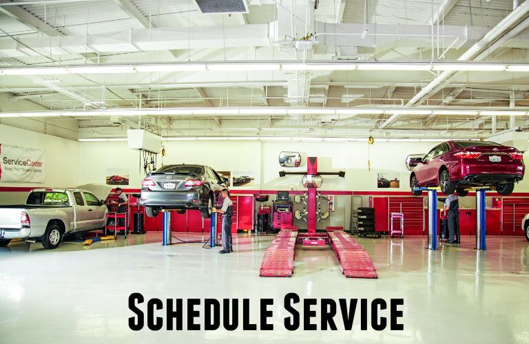 Schedule service at Cox Toyota