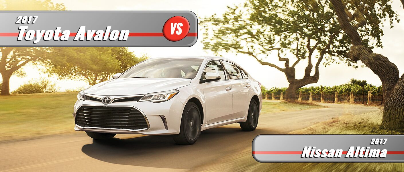 New Nissan Altima VS New Toyota Avalon Burlington NC