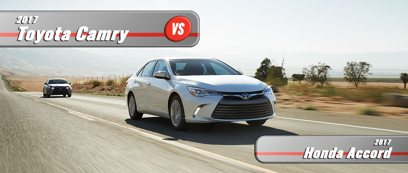 New Honda Accord VS New Toyota Camry Burlington NC