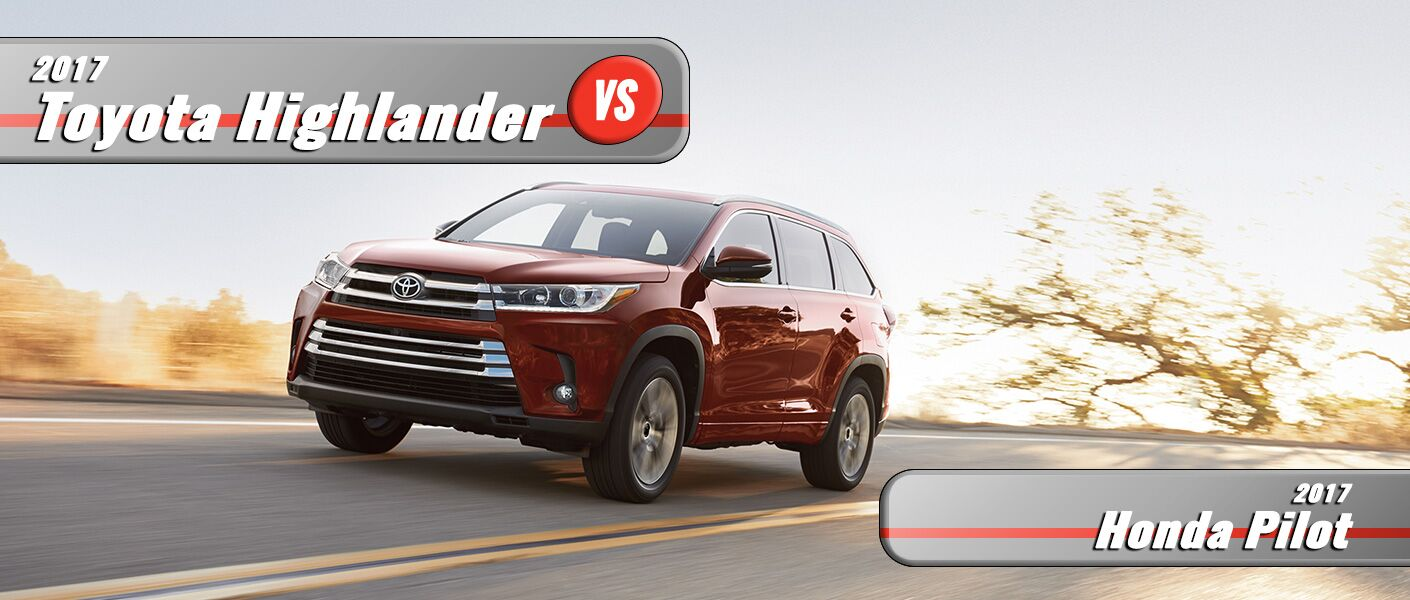 New Honda Pilot VS New Toyota Highlander Burlington NC