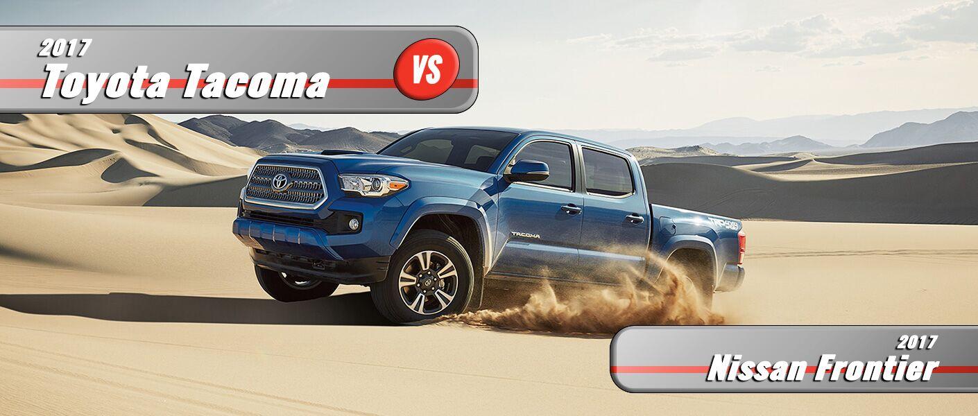 New 2017 Toyota Tacoma vs 2017 Nissan Frontier