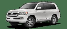 Rent a Toyota Land Cruiser in Cox Toyota