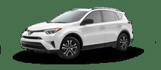 Rent a Toyota Rav4 in Cox Toyota