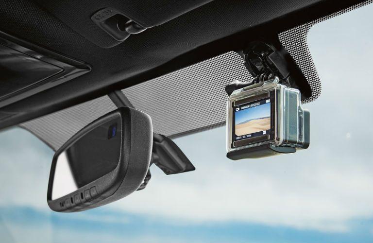 Tacoma windshield GoPro mount