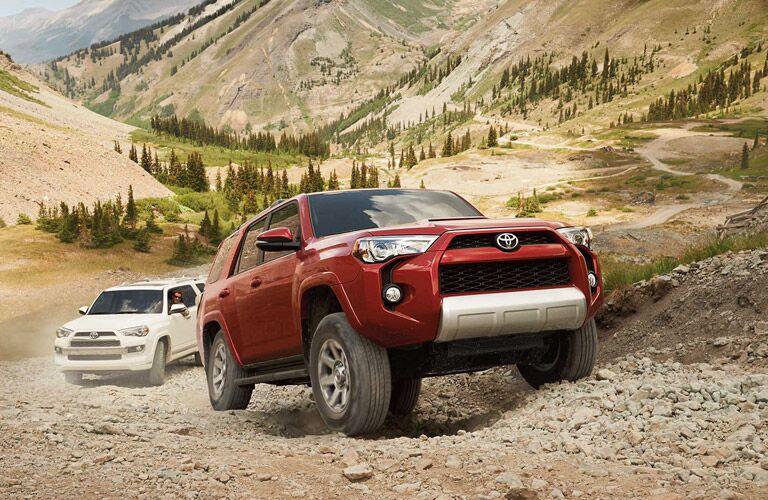 2016 Toyota 4Runner terrain modes
