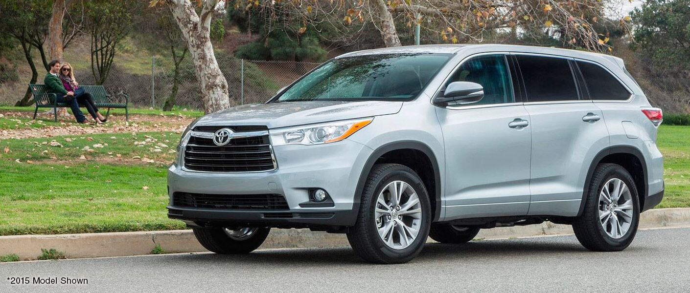 2016 Toyota Highlander features Western Slope Toyota