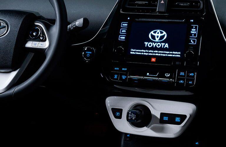2016 Toyota Prius infotainment system