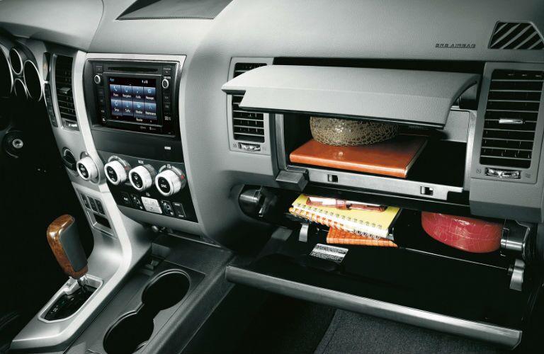 Sequoia Dash and Glove Compartment