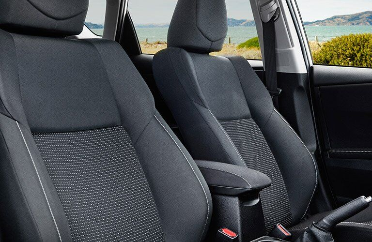 2017 Toyota Corolla iM seating