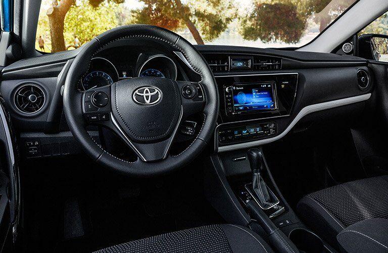 2017 Toyota Corolla iM dashboard