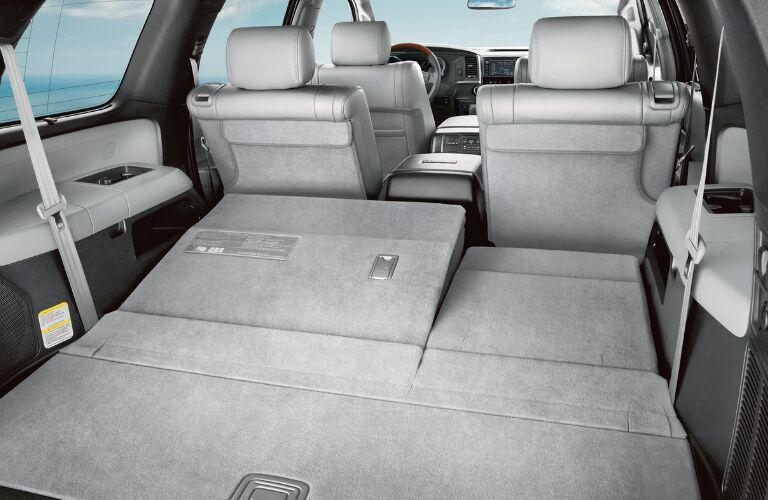 Cargo Area of 2018 Toyota Sequoia