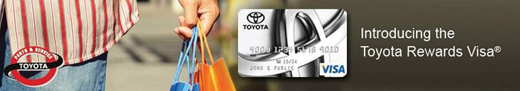 Introducing the Toyota Rewards Visa