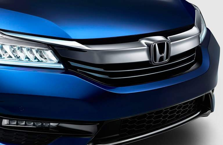 2017 Honda Accord Hybrid grille in blue