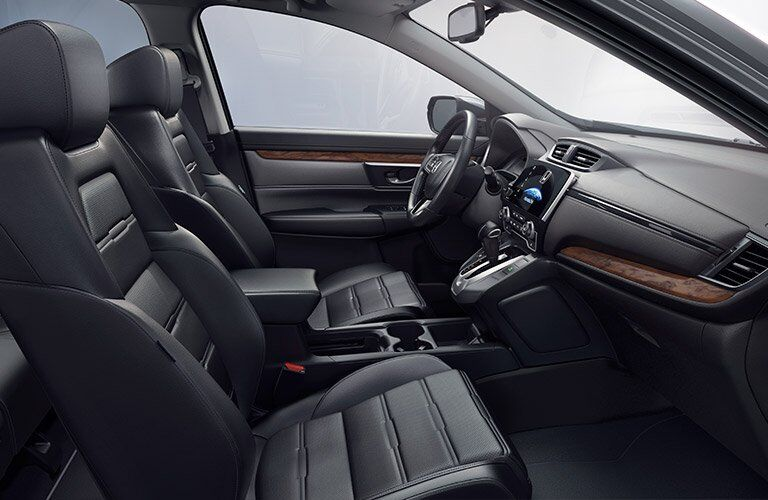 2017 Honda CR-V front interior view