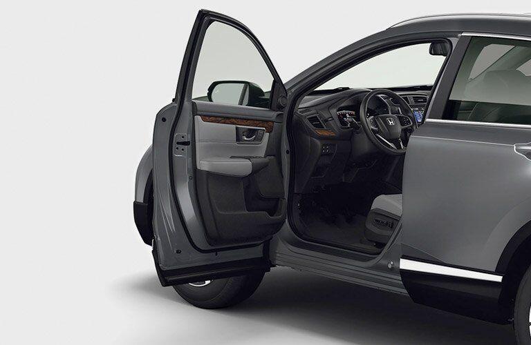 2017 Honda CR-V open front door view