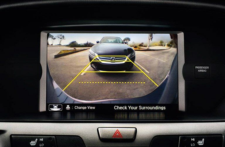 2017 Honda Odyssey rearview camera system